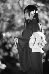 美雨ちゃん6 - モノクロポートレート写真館