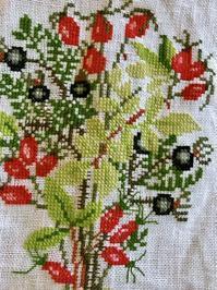 刺繍でのグリーン計画完成、フレメ刺繍で掲載して頂きました(Handful) - バンクーバー日々是々
