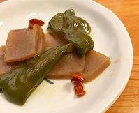 ピーマンとこんにゃくのさっと煮@行正り香「圧力鍋、使ってみよう」。味しみと調理は別の話。 - Isao Watanabeの'Spice of Life'.