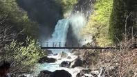 こころ旅・ 絶景!吊り橋と滝 - 心紋様