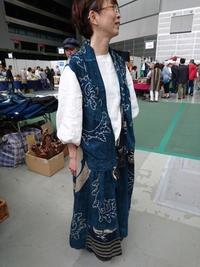 さいたまスーパーアリーナ骨董アンティークフェア PURI*CHOKO編 - 古布や麻の葉