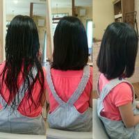 長い髪をばっさりと - 松江市美容室 hair atelier bonet(ヘアアトリエボネット)