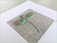トンボのビーズ刺繍 - la maison de SOEURS