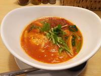 トマト麺chili(トマト麺Vegie:札幌市白石区東札幌:2017年86杯目) - eihoのブログ