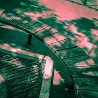 2017年6月17日 街角の抽象画#5 - 発狂した緑陰 - Silver Oblivion