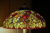 ざくろのランプ - ステンドグラスルーチェの日常
