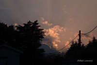 昨日の夕焼け空 - BobのCamera
