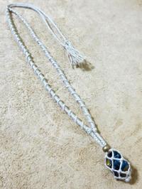 【マクラメ&ヘンプ】#126 タイガーアイの着せ替えネックレス - Shop Gramali Rabiya (SGR)