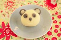 祝!パンダの赤ちゃん - 簡単電子レンジで作れる和菓子 鳥居満智栄の和菓子日和