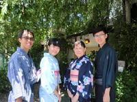 シンガポールから来られました、楽しそう。 - 京都嵐山 着物レンタル&着付け「遊月」