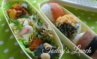 おにぎり弁当 - 料理研究家ブログ行長万里  日本全国 美味しい話