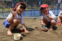 砂の感触(なでしこ) - 慶応幼稚園ブログ【未来の子どもたちへ ~Dream Can Do!Reality Can Do!!~】