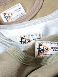 FELCO リブTee - 【Tapir Diary】神戸のセレクトショップ『タピア』のブログです