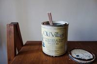 はんちょろけにしていたペンキ塗りが2年目に終了す - 糸巻きパレットガーデン
