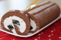 コーヒーゼリーロール & チョコクリームロールパン - パン・お菓子教室 「こ む ぎ」