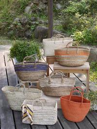 アフリカンな手編みバッグ色々 - CROSSE 便り
