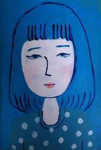 夜中 - たなかきょおこ-旅する絵描きの絵日記/Kyoko Tanaka Illustrated Diary