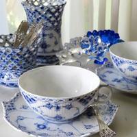 ロイヤルコペンハーゲン・ブルーフルーテッドのティーカップ♪ - アンティークな小物たち ~My Precious Antiques~