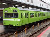 平成の画像 奈良線の103系 - 『タキ10450』の国鉄時代の記録