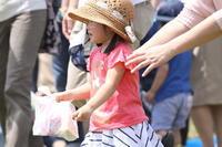 地区の運動会(お菓子取り競争) - kozaru日記