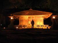 第8回高蔵寺ホタルまつりのバイオリン演奏 - 高蔵寺ホタルの里