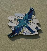 ドア飾り 「青い鳥」 - たまには描きます