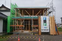 ゼロ・エネルギー住宅「FPの家」防水工事 - エコで快適な『FPの家』いかがですか!