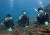 今日は体験ダイビングデーでした(^^) - 八丈島ダイビングサービス カナロアへようこそ!