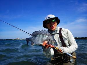 (浜名湖クロダイ・サイトフィッシングゲーム開幕) - THOMAS&THOMAS-Fly Fishing Total Support.TEAL