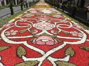Infiorata di Genzano di Roma(ローマの町、ジェンツァーノの花祭り) - イタリア語って面白い!
