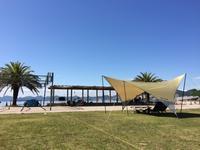 瀬戸田サンセットビーチ デイキャンプ - 山とコーヒーと自転車と時々アートのある暮らし