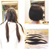 ヘアドネーションにご協力頂いたI様! - 東京都荒川区にある尾久駅前の美容室 WEST HAIR DESIGNのブログ