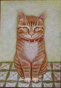 猫 - 絵画制作日記
