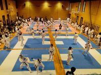 第1回合同練習会(中学生対象)を実施 - 大阪学芸 空手道応援ブログ