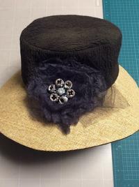 ユーカリのコサージュ - 帽子工房 布布