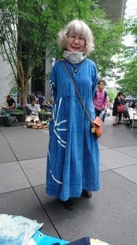 大江戸骨董市 6月 - 古布や麻の葉
