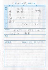 11月22日 - なおちゃんの今日はどんな日?