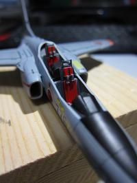 ハセガワ 1/72 川崎T-4 製作中 (20) - DNF