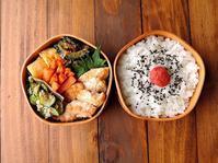 6/16(金)鶏のオイマヨ和え弁当 - おひとりさまの食卓plus