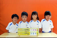 えひめ国体まで105日(すみれ) - 慶応幼稚園ブログ【未来の子どもたちへ ~Dream Can Do!Reality Can Do!!~】