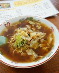 【塩原温泉名物スープ入り焼きそば♪】 - ふくすけのコネコネ 編み編み てくてく日記