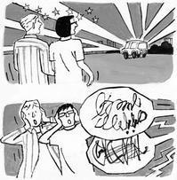 挿し絵の仕事「週間金曜日 脳梗塞サバイバー が考える患者支援ガイド 10 6/16日号 2017年 - yuki kitazumi  blog
