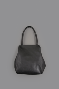 STYLE CRAFT  Goatskin Frame Tote FB-02 (Ink Black) - un.regard.moderne