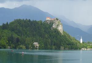 東欧の旅 ⑤ブレッド城 - そらいろのパレット