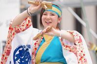 2017加古川踊っこまつり2日目その23(播州櫻組) - ヒロパンの天空ウォーカー
