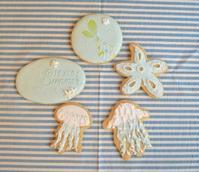 Summer icing cookies - 調布の小さな手作りお菓子・パン教室 アトリエタルトタタン