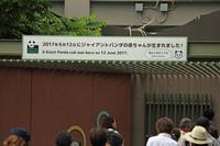 上野動物園でジャイアントパンダの赤ちゃんが生まれたので行ってきてみた。 - 動物園のど!