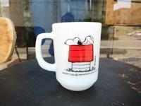 Fire King SNOOPY Mug Morning Allergy  - DELIGHT CLOTHING&SUPPLY