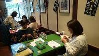 minamiwaニットカフェ大崎♪来週7月15日(土)です! - 空色テーブル  編み物レッスン&編み物カフェ