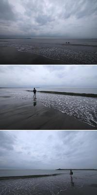 2017/06/18(SUN) 曇り空の海辺では.......。 - SURF RESEARCH